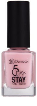Dermacol 5 Day Stay дълготраен лак за нокти