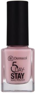 Dermacol 5 Day Stay dlhotrvajúci lak na nechty
