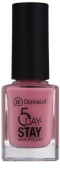 Dermacol 5 Day Stay високостійкий лак для нігтів