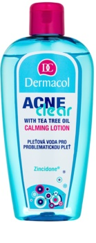 Dermacol Acneclear тонізуюча вода для обличчя для проблемної шкіри