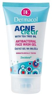 Dermacol Acneclear gel za čišćenje za problematično lice, akne