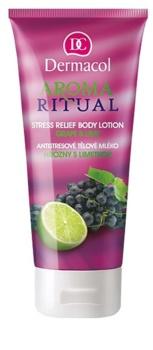 Dermacol Aroma Ritual Grape & Lime αντι-στρες λοσιόν σώματος