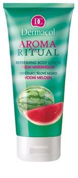 Dermacol Aroma Ritual Fresh Watermelon osvěžujúce telové mlieko