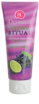 Dermacol Aroma Ritual Grape & Lime crema de manos antiestrés