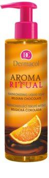 Dermacol Aroma Ritual Belgian Chocolate sabonete líquido