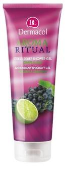 Dermacol Aroma Ritual Grape & Lime antistressz tusfürdő gél