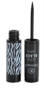 Dermacol Black Sensation Ultra Black eyeliner liquide