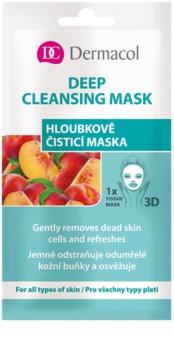Dermacol Deep Cleasing Mask textilná 3D hĺbkovo čistiaca maska