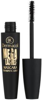 Dermacol Mega Lashes Dramatic Look máscara de pestañas para dar volumen y curvatura