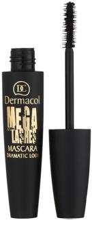Dermacol Mega Lashes Dramatic Look mascara per ciglia curve e voluminose