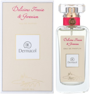 Dermacol Delicious Freesia & Geranium Eau de Parfum voor Vrouwen