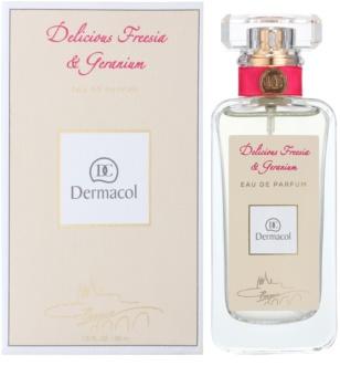 Dermacol Delicious Freesia & Geranium Eau de Parfum για γυναίκες