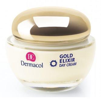 Dermacol Gold Elixir денний омолоджуючий крем з екстрактом ікри