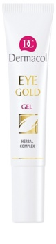 Dermacol Gold żel odświeżający przeciw obrzękom i cieniom