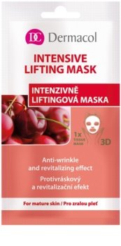 Dermacol Intensive Lifting Mask maschera in panno 3D effetto lifting