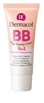 Dermacol BB Magic Beauty Sävytetty Kosteuttava Voide 8 In 1