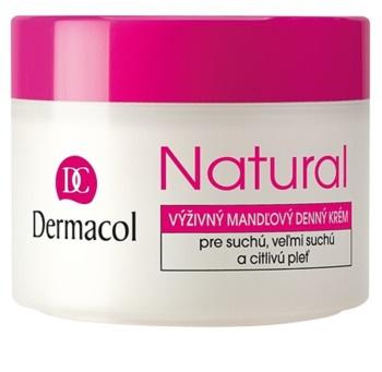 Dermacol Natural поживний денний крем для сухої та дуже сухої шкіри