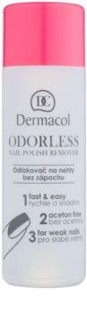 Dermacol Odourless dissolvant ongles sans parfum
