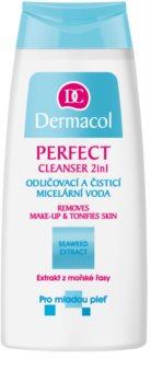 Dermacol Perfect agua micelar limpiadora para pieles jóvenes