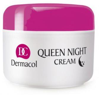 Dermacol Dry Skin Program Queen Night Cream îngrijire de noapte pentru fermitate uscata si foarte uscata