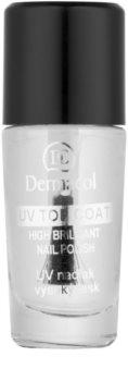 Dermacol UV Top Coat esmalte de uñas transparente