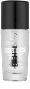 Dermacol UV Top Coat priehľadný lak na nechty