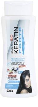 Dermagen Brazil Keratin Forte condicionador regenerador para cabelo pintado
