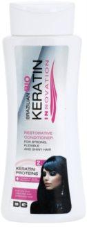 Dermagen Brazil Keratin Innovation acondicionador fortificante para cabello teñido y dañado