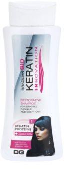 Dermagen Brazil Keratin Innovation champú revitalizador para cabello teñido y dañado