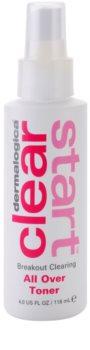 Dermalogica Clear Start Breakout Clearing lozione tonica detergente per viso e corpo
