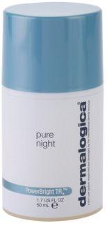 Dermalogica PowerBright TRx noćna hranjiva krema za posvjetljivanje za lice s hiperpigmentacijom