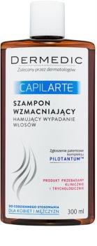 Dermedic Capilarte shampoing fortifiant anti-chute de cheveux