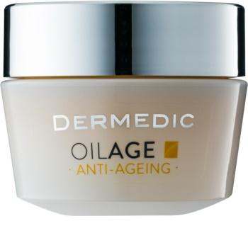 Dermedic Oilage Anti-Ageing tápláló nappali krém a bőr sűrűségének megújítására
