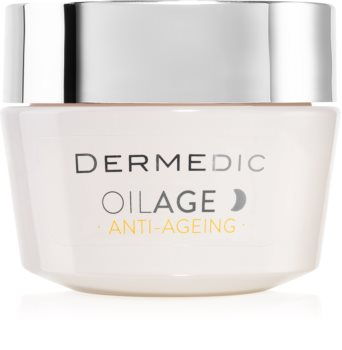 Dermedic Oilage Anti-Ageing regeneráló éjszakai arcmaszk a bőr sűrűségének helyreállításához