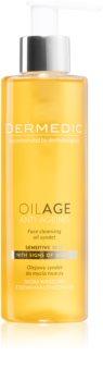 Dermedic Oilage Anti-Ageing syndet à base d'huile pour laver le visage