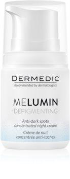 Dermedic Melumin crème de nuit anti-taches brunes