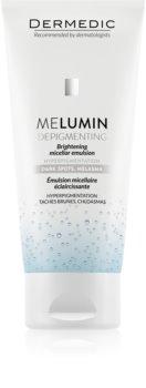 Dermedic Melumin emulsie micelara pentru curatare pentru piele cu hiperpigmentare