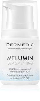 Dermedic Melumin zesvětlující krém na pigmentové skvrny SPF 50+
