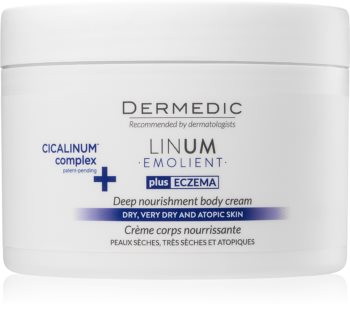 Dermedic Linum Emolient Nourishing Body Cream  for Dry and Atopic Skin