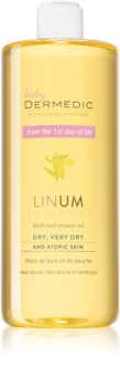 Dermedic Linum Emolient Shower And Bath Oil For Atopic Skin