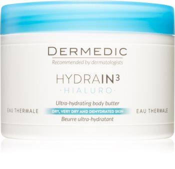 Dermedic Hydrain3 Hialuro intensive feuchtigkeitsspendende Körperbutter
