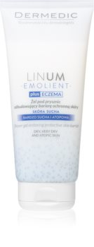 Dermedic Linum Emolient Duschgel regeneriert die Hautbarriere