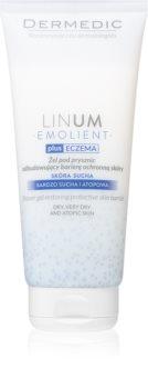 Dermedic Linum Emolient gel doccia per ripristinare la barriera cutanea