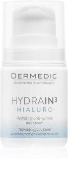 Dermedic Hydrain3 Hialuro crema idratante giorno antirughe
