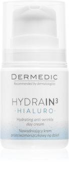 Dermedic Hydrain3 Hialuro Fugtende dagcreme  med anti-rynkeeffekt