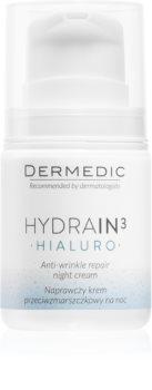 Dermedic Hydrain3 Hialuro Hydrating Night Cream with Anti-Wrinkle Effect