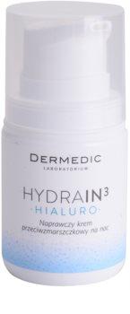 Dermedic Hydrain3 Hialuro vlažilna nočna krema proti gubam