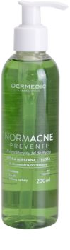 Dermedic Normacne Preventi gel de curatare facial antibacterial