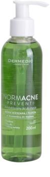 Dermedic Normacne Preventi gel nettoyant visage au composant antibactérien