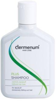 Dermenum Hair Care Plus champô reforçador anticaspa e antiqueda de cabelo